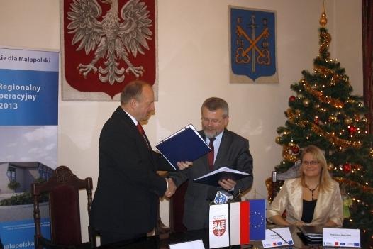 Podpisanie umów MRPO