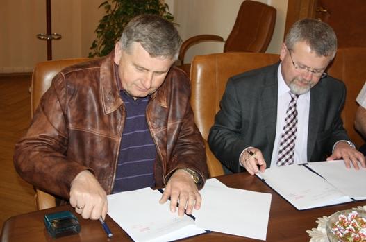 Podpisanie umowy - Karwodrza