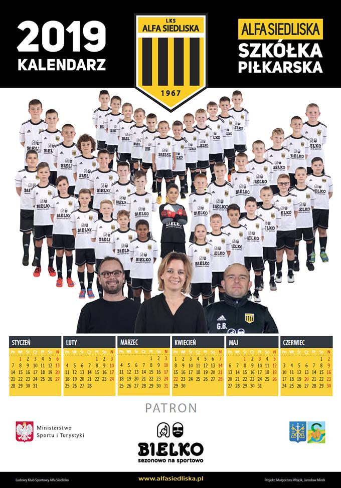 Kalendarz 2019 Alfa Siedliska